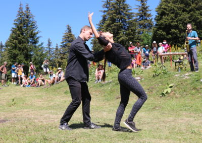 PERFORMANCE # Pièce 3 danseurs et 1 musicien